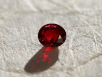 02-128 Spinel vivid red 1.16cts (5) POUR SITE