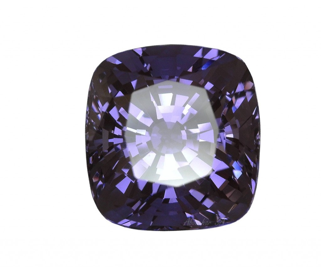 10.37 Spinel purple CS 01-185''