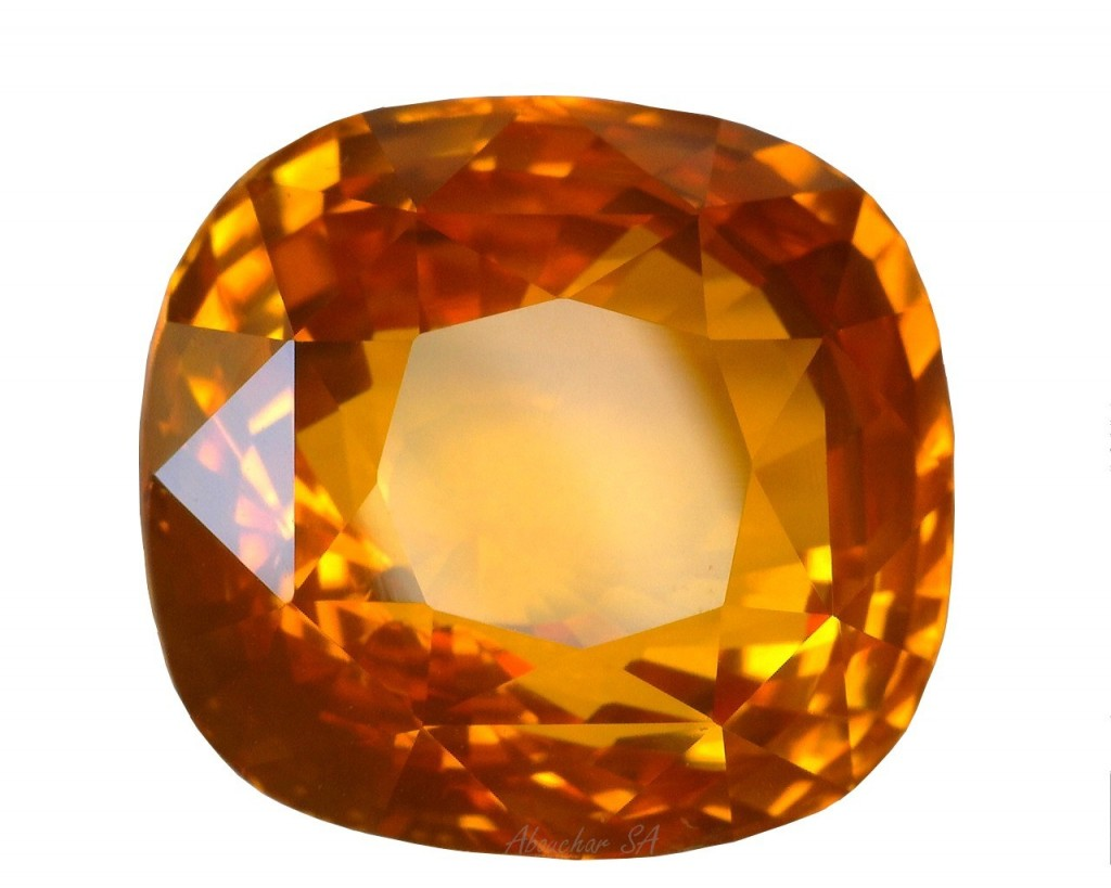 10.93 Saphir orange CS SLH GRS 01-1085''