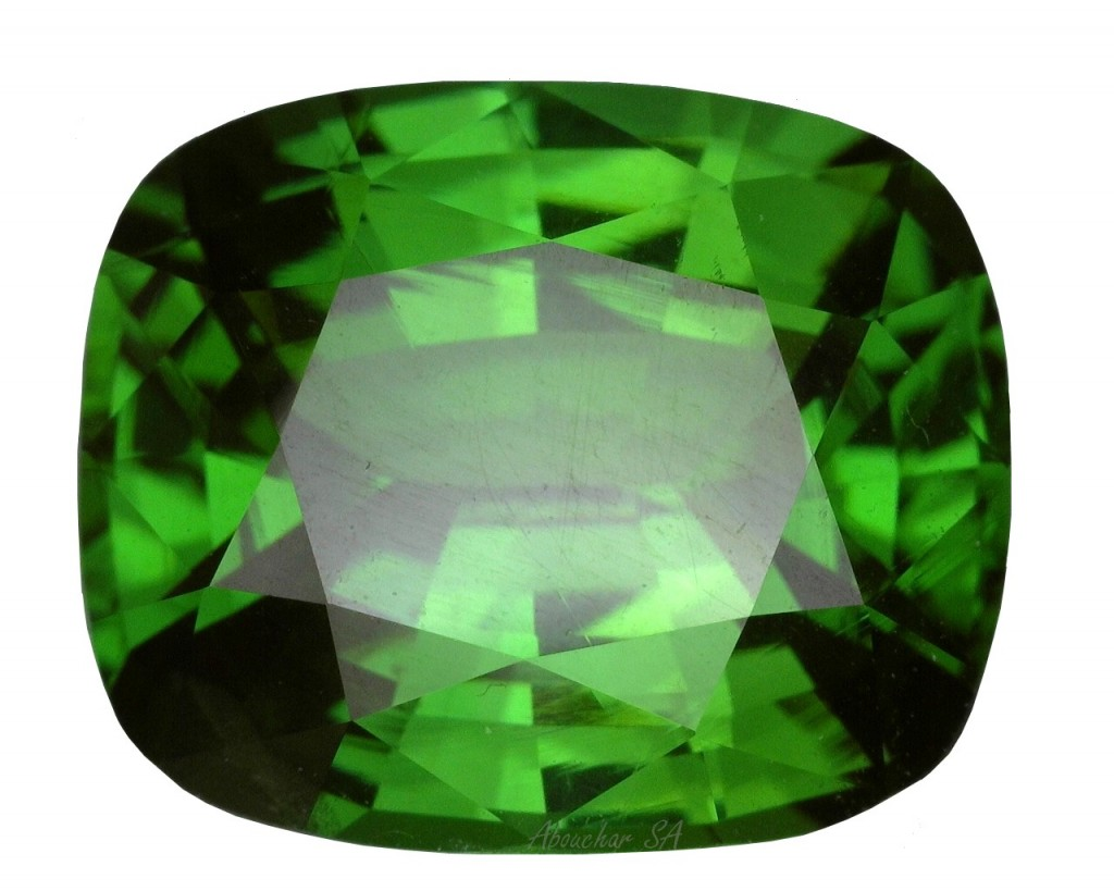 4.03 Green Zircon CS 01-135''