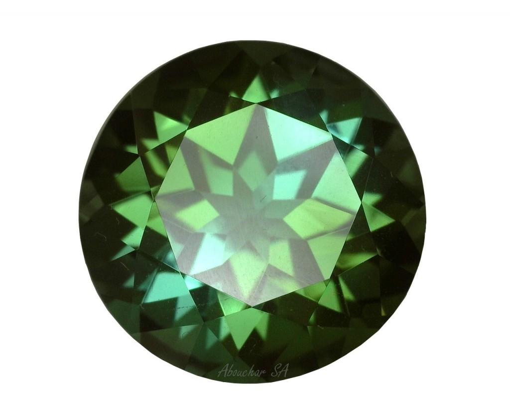 6.94 Tourmaline green RD 21-15''