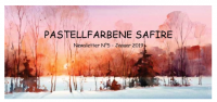 Newsletter 5 - Pastellfarbene Saphire