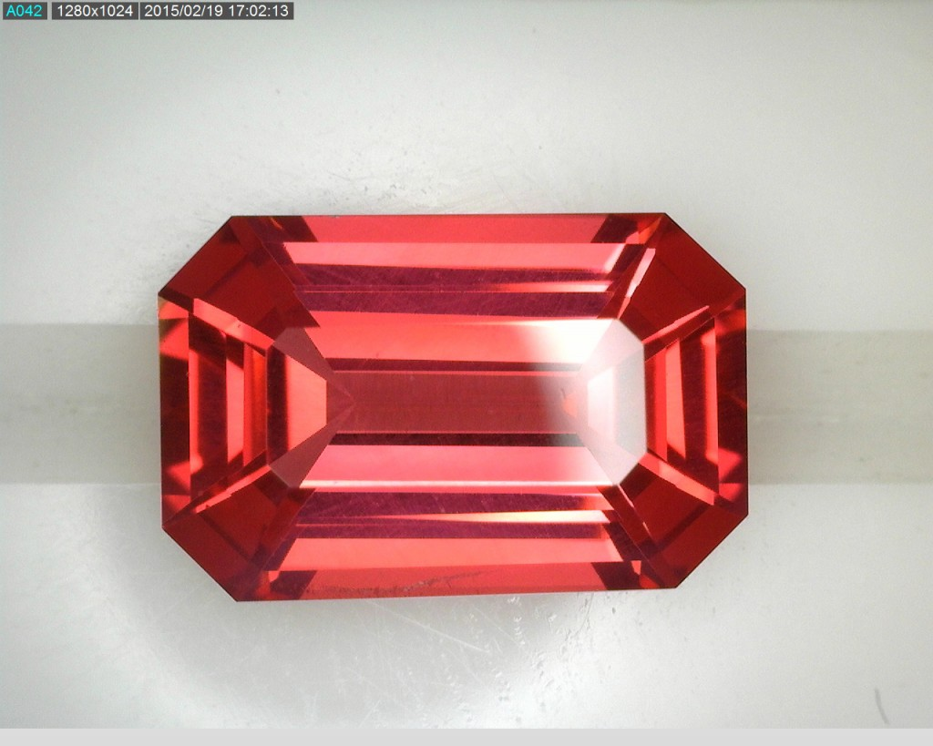 spinel orange 1.68 ct0